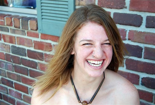 This undated photo provided by Paul Hanson shows his sister, Dianna Hanson. Dianna Hanson, a 24-year-old intern at the Cat Haven in Dunlap, Calif., was mauled to death by a lion at the exotic animal park on Wednesday, March 6, 2013. (AP Photo/Paul Hanson)