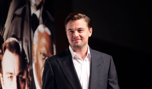 "© Actor Leonardo DiCaprio poses for a photo call during a press conference for his new film ""DJango Unchained"" in Tokyo, Saturday, March 2, 2013."