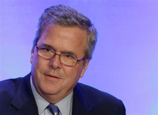 © In this Feb. 26, 2013 file photo, former Florida Gov. Jeb Bush speaks in Austin, Texas. Jeb Bush has long resisted pressure from supporters to run for president.