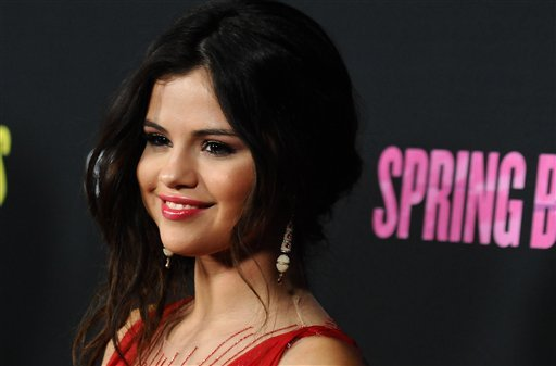 ? Selena Gomez arrives at the LA premiere of &quot;Spring Breakers&quot; at the ArcLight Hollywood on Thursday, March 14, 2013 in Los Angeles. (Photo by Jordan Strauss/Invision/AP)