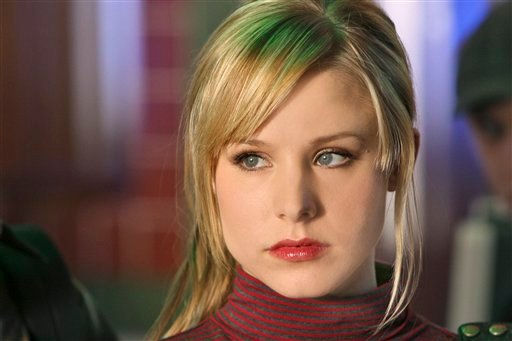 """? This 2007 publicity photo supplied by the CW shows Kristen Bell, who plays the title role in """"Veronica Mars"""" on The CW Network."""