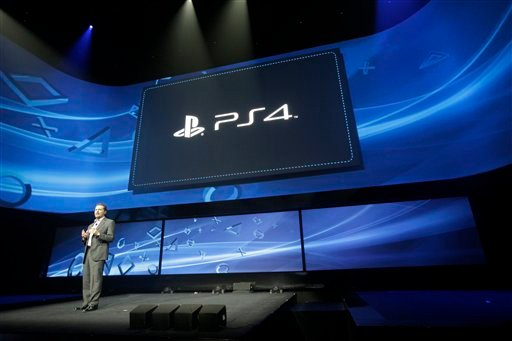 In this Feb. 20, 2013 file photo, Andrew House speaks at an event to announce the Sony Playstation 4, in New York.