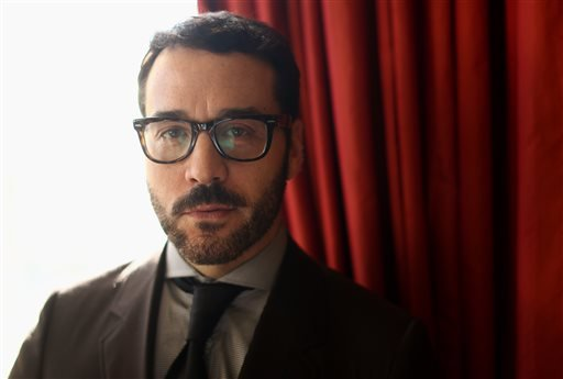 "In this Jan. 15, 2013 photo, actor Jeremy Piven, from the television series ""Mr. Selfridge,"" poses for a portrait during the PBS Winter TCA Tour at the Langham Huntington Hotel in Pasadena, Calif."