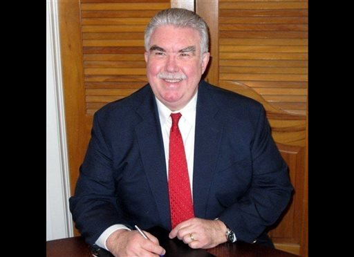 This undated photo taken from the Kaufman County, Texas, website shows Kaufman County District Attorney Mike McLelland. McLelland and his wife were found killed in their house, Saturday, March 30, 2013.