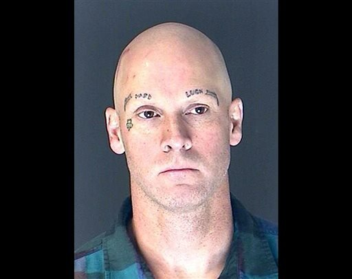 This Friday, April 5, 2013 photo provided by the El Paso County Sheriff's Office shows 47-year-old James Lohr.