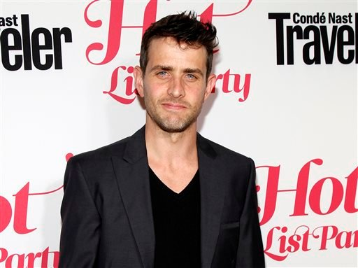 This April 12, 2012 file photo shows singer Joey McIntyre, from the Boston group New Kids on the Block, at the Conde Nast Traveler Hot List Party at The Presidential Suite of Hotel Bel-Air in Los Angeles.