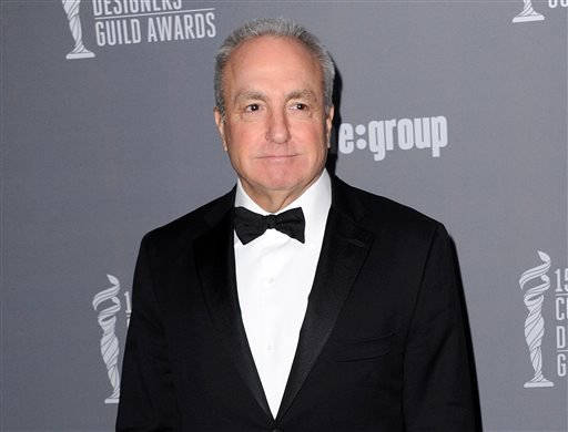 """FILE - This Feb. 19, 2013 file photo shows producer Lorne Michaels at the 15th Annual Costume Designers Guild Awards at The Beverly Hilton Hotel in Beverly Hills. Michaels is the longtime producer of """"Saturday Night Live."""" (AP)"""