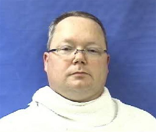 This photo provided by the Kaufman County Sheriff's Office shows Eric Williams. Texas authorities have arrested the former justice of the peace's wife, Kim Lene Williams. (AP Photo/Kaufman County Sheriff's Office, File)