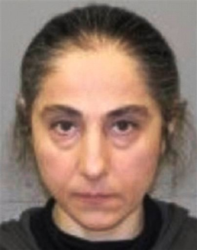 This June 2012 booking photo released by the Natick, Mass., police shows Zubeidat K. Tsarnaeva, mother of Tamerlan and Dzhokhar Tsarnaev. (AP Photo/Natick Police Department)