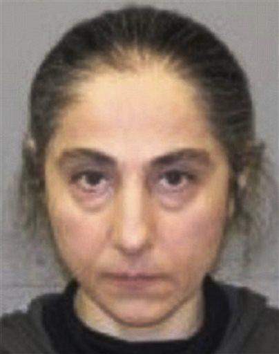 This June 2012 booking photo released by the Natick, Mass., police shows Zubeidat K. Tsarnaeva, mother of Tamerlan and Dzhokhar Tsarnaev. (AP Photo/Natick Police Department)