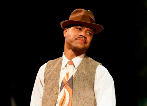 "This theater publicity image released by The Hartman Group shows Cuba Gooding Jr. during a performance of ""The Trip to Bountiful,"" at the Stephen Sondheim Theatre in New York."