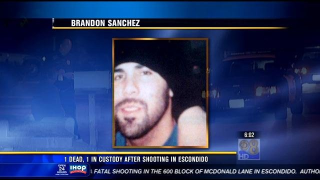 The victim has been identified as 36-year-old Brandon Sanchez.