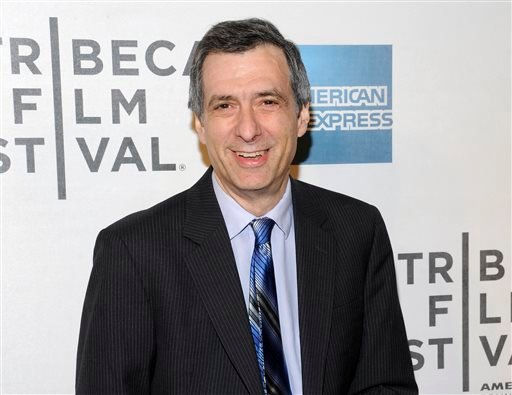 "This April 25, 2012 file photo shows journalist Howard Kurtz at the world premiere of ""Knife Fight"" during the 2012 Tribeca Film Festival in New York."