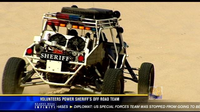 An ORET dune buggy in action.