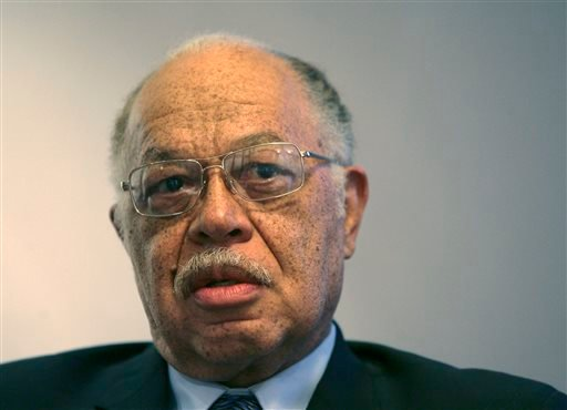 In this March 8, 2010 file photo, Dr. Kermit Gosnell is seen during an interview with the Philadelphia Daily News at his attorney's office in Philadelphia.
