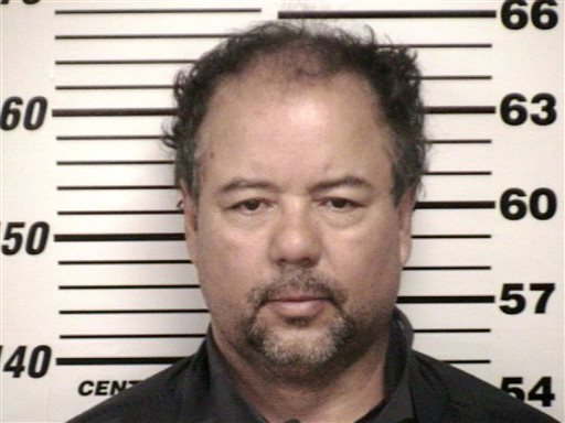 This undated file photo provided by Cuyahoga County Jail shows Ariel Castro.