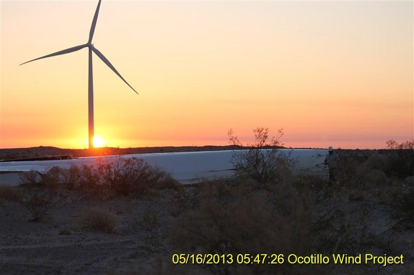 Photos courtesy Ocotillo resident Jim Pelley.