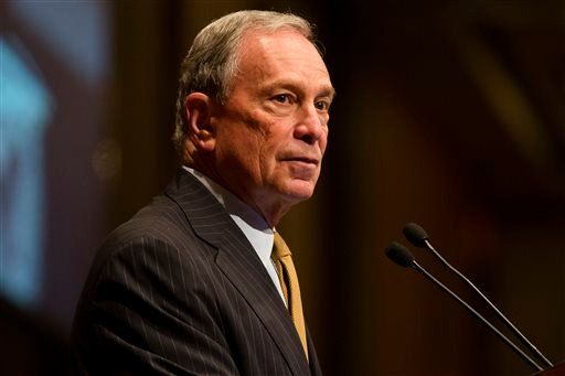 Mayor Michael Bloomberg speaks at the Real Estate Board of New York on Thursday, May 30, 2013, in New York.