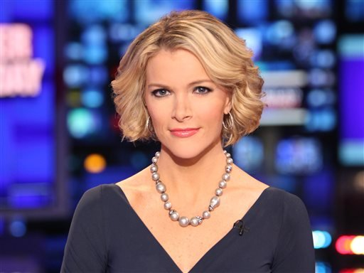 FILE - In this March 6, 2012 file photo provided by Fox News, Fox News anchor Megyn Kelly poses at the anchor desk at the Fox studios in New York. (AP)