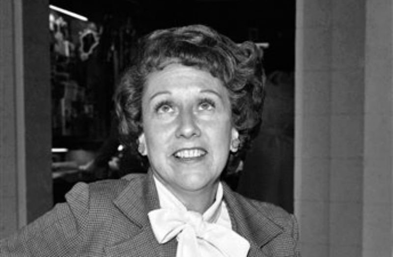 """Actress Jean Stapleton speaks during an interview in Washington on Wednesday, March 3, 1977, saying she will increase speaking out to the """"Edith Bunkers"""" of the land to try and muster support for the Equal Rights Amendment."""