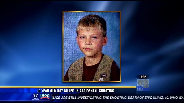 10-year-old Eric Klyaz