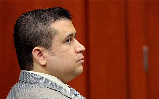 George Zimmerman arrives in Seminole circuit court, in Sanford, Fla., for a pre-trial hearing Friday, June 7, 2013. (AP)