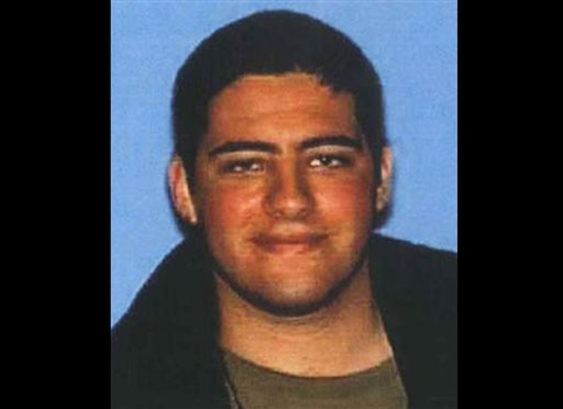 This undated photo provided on Sunday, June 9, 2013, by the Santa Monica Police Department shows John Zawahri, 23, who police have identified as the shooter in Friday's deadly rampage at Santa Monica College. (AP Photo/Santa Monica Police Department)