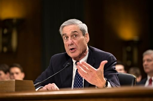 FBI Director Robert Mueller testifies on Capitol Hill in Washington, Wednesday, June 19, 2013, before the Senate Judiciary Committee hearing on national security matters. (AP)
