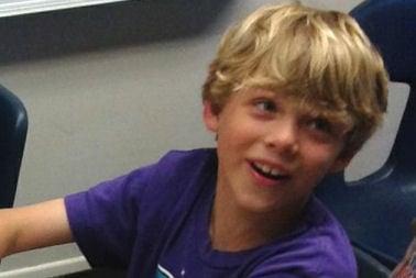Shooting victim Eric Klyaz, 10