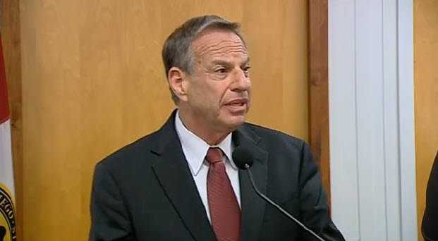 Pictures featured above are screen images from Mayor Filner's press conference on Friday, July 26, 2013.
