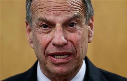 San Diego Mayor Bob Filner speaks during a news conference at city hall, Friday, July 26, 2013, in San Diego.