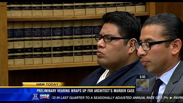 Higinio Salgado (seen in this video screen image), 31, is charged with murder in the death three months ago of 56-year-old Graham Downes.