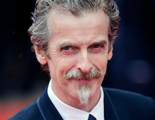"Glasgow-born actor and Oscar winner Peter Capaldi, as he appeared in London in this file photo dated May 12, 2013. Peter Capaldi is named late Sunday Aug. 4, 2013, as the next lead star for the long-running British science fiction TV series ""Doctor Who."""