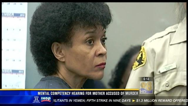 Regina Renee Johnson, 56, is charged with murder and the use of a gun in connection with the slayings of 56-year-old Reuben Johnson and Aaliyah Johnson, a freshman at West Hills High School.