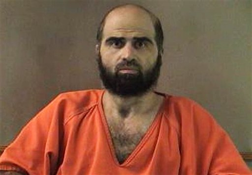 FILE - This undated file photo provided by the Bell County Sheriff's Department shows Nidal Hasan, who is charged in the 2009 shooting rampage at Fort Hood that left 13 dead and more than 30 others wounded. (AP)