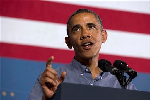 FILE - In this Aug. 22, 2013 file photo, President Barack Obama speaks in Syracuse, N.Y. (AP)