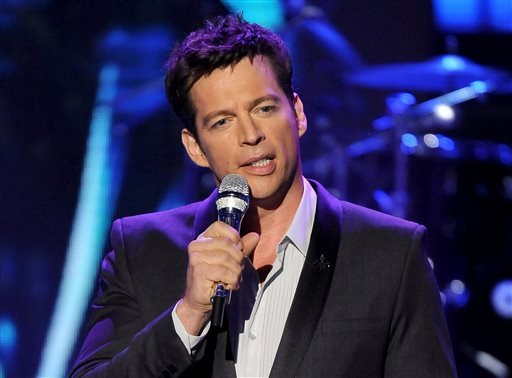 "FILE - In this May 2, 2013 file photo originally released by Fox, singer Harry Connick Jr. performs onstage at FOX's ""American Idol"" Season 12 Top 4 To 3 Live Elimination Show in Los Angeles. (AP)"