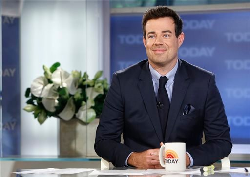 "This June 24, 2013 photo released by NBC shows Carson Daly on NBC News' ""Today"" show in New York. (AP)"