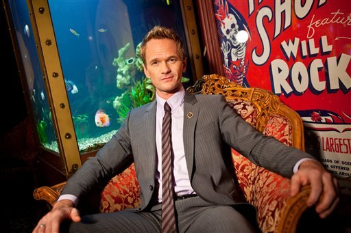 In this photo taken on Tuesday, Sept 10, 2013, Neil Patrick Harris poses for a portrait at the Magic Castle on in Los Angeles.