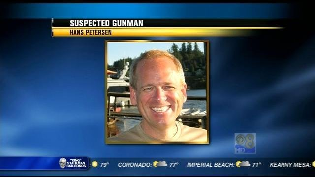 Hans Petersen, suspected gunman