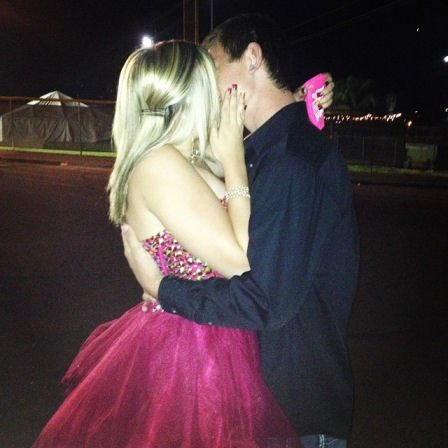 Hannah Anderson recently posted on her Instagram page this photo of an embrace with her homecoming date.