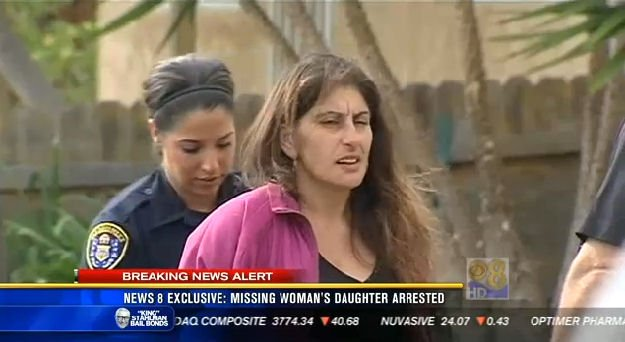 Officers arrest Ghazal Mansury, 42, Thursday afternoon in City Heights