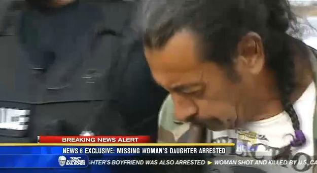 Lucio Moreno, 57, is taken into custody by San Diego Police Thursday