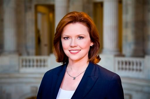 This photo provided by NBC News shows NBC News Capitol Hill Correspondent Kelly O'Donnell at the U.S. Capitol, in Washington, D.C.