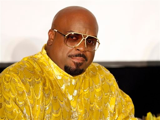 """In this Sunday, Sept. 29, 2013 file photo, singer/songwriter and rapper Cee Lo Green interviewed legendary artist Little Richard as part of the Recording Academy Atlanta Chapter's """"The Legacy Lounge"""" at the W Hotel, in Atlanta, Ga."""