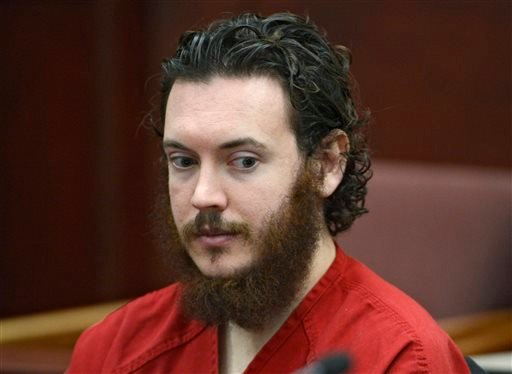 -This June 4, 2013 file photo shows Aurora theater shooting suspect James Holmes in court in Centennial, Colo.
