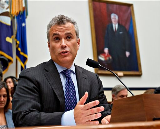 In this Aug. 1, 2012 file photo, Jeffrey Zients testifies on Capitol Hill in Washington.