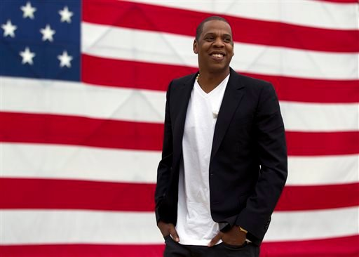 """In this May 14, 2012 file photo, entertainer Shawn """"Jay-Z"""" Carter arrives at the Philadelphia Museum of Art."""