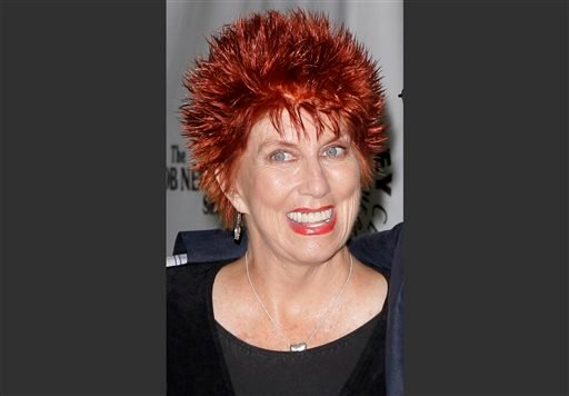 "This Sept. 5, 2007 file photo shows Marcia Wallace during TV Land's 35th anniversary tribute to ""The Bob Newhart Show"" in Beverly Hills, Calif."