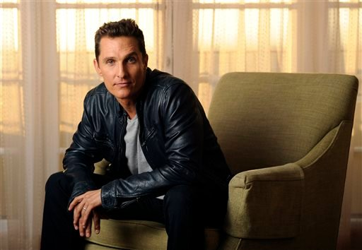 This Oct. 12, 2013 photo shows actor Matthew McConaughey at the Four Seasons Hotel in Beverly Hills, Calif.